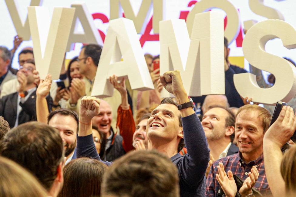Rivera promete unir a los españoles y defender la libertad frente a quienes promueven el odio y la imposición