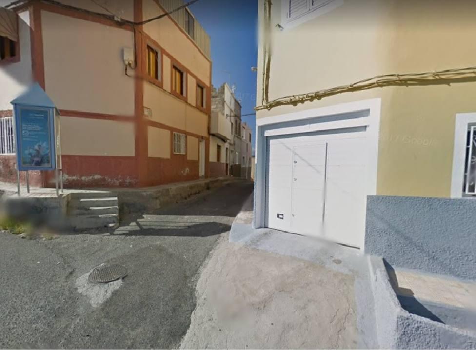 La calle donde se produjo el suceso