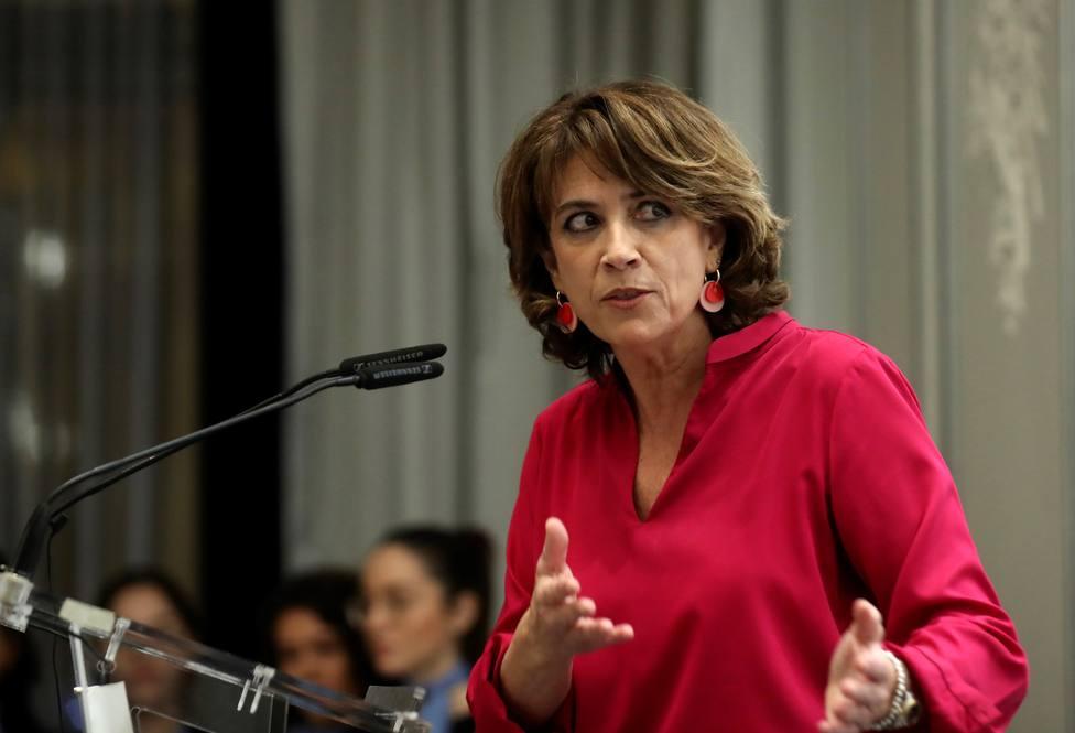 Dolores Delgado se reincorpora a su puesto en la Fiscalía Audiencia Nacional