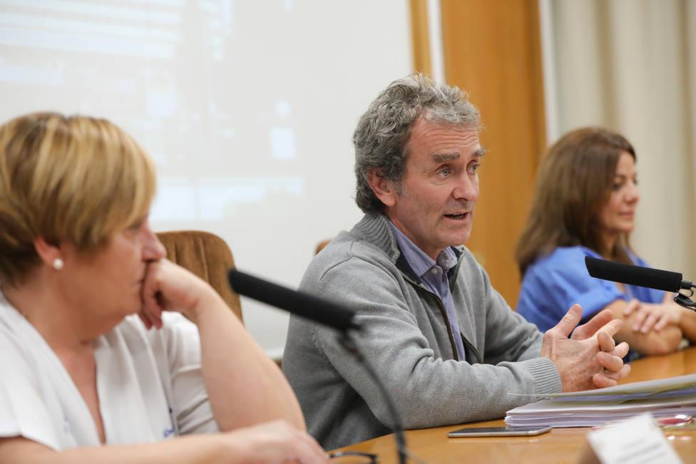 Rueda de prensa en el Hospital Gómez Ulla para explicar la evolución de las personas en cuarentena