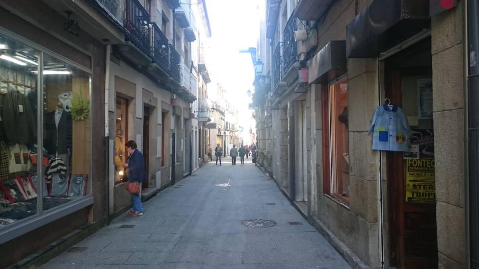 Calle comercial de Viveiro