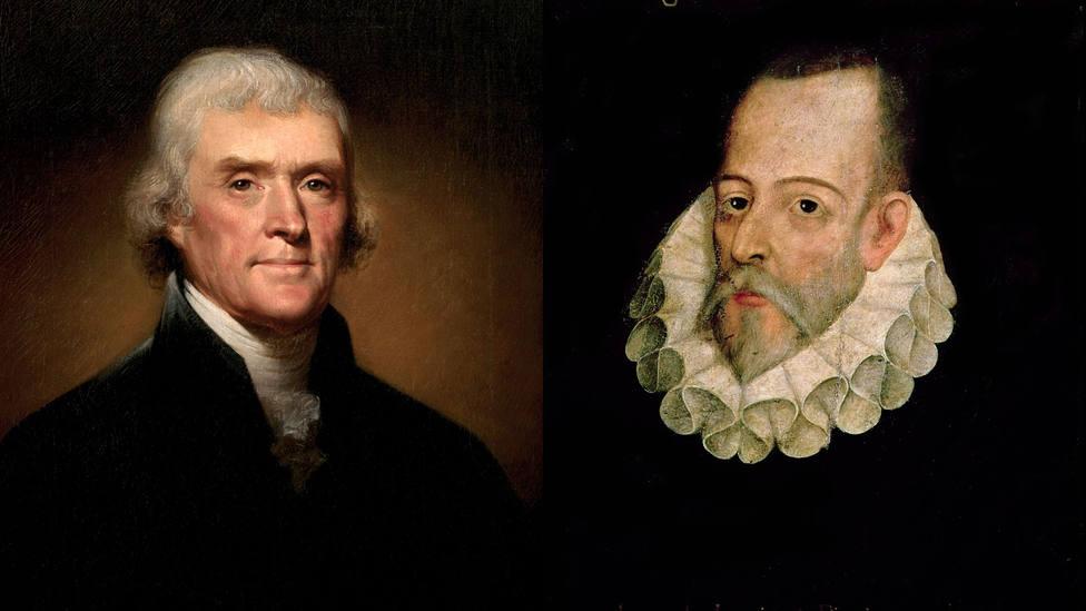La afición secreta de Thomas Jefferson que dice mucho de las pintadas a la estatua de Cervantes