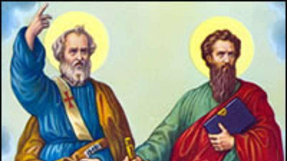 El santoral del 29 de junio: Santos Pedro y Pablo, bases de la Iglesia de Cristo