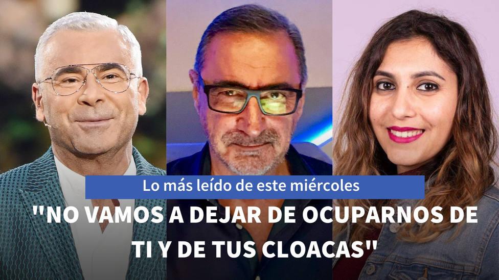 La advertencia de Carlos Herrera a Pablo Iglesias, entre lo más leído de este miércoles
