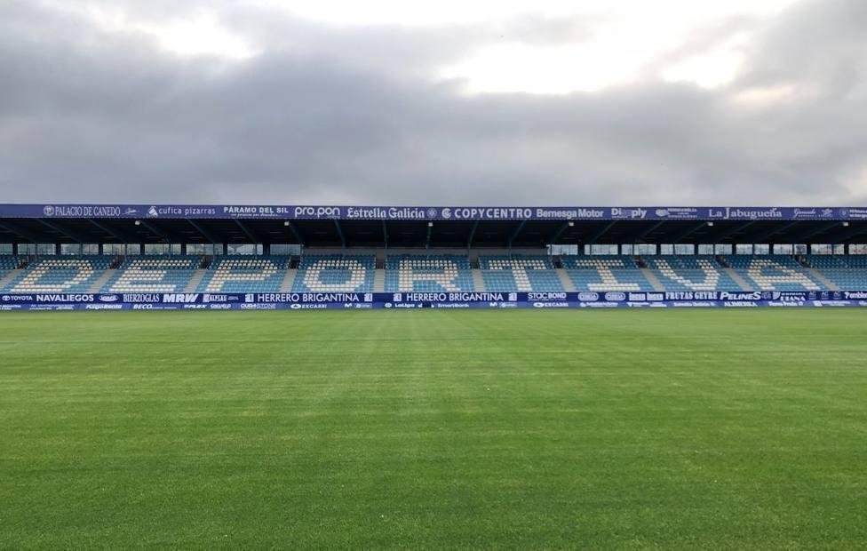 Estadio El Toralín de Ponferrada