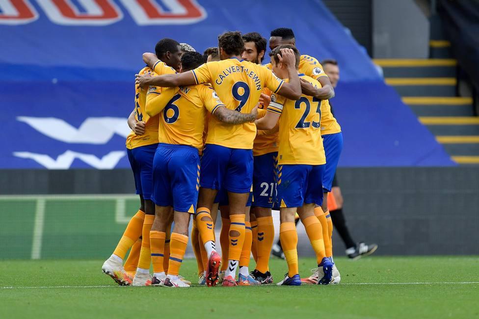 El Everton suma su tercera victoria consecutiva de la temporada
