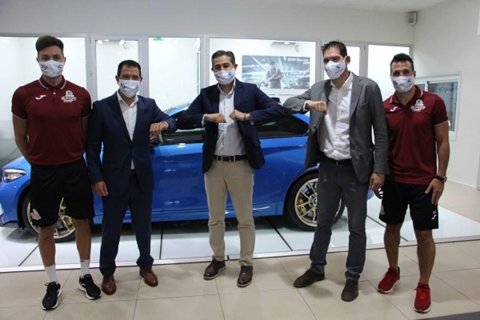 BMW y ElPozo Murcia Costa Cálida renuevan su unión para una temporada muy ilusionante