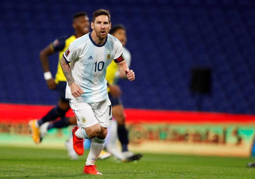 Messi contra la altura de Bolivia