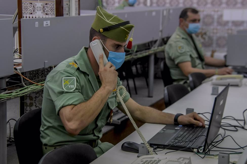 Almería.-Coronavirus.-La Legión activa a 32 rastreadores de vigilancia epidemiológica desde su base de Viator