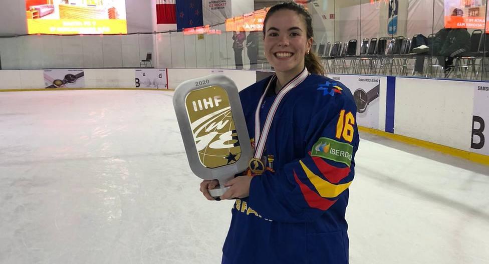 Manuela Paniego, Premio superación de la Liga Iberdrola de Hockey