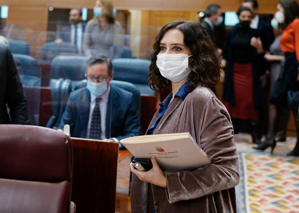Isabel Díaz Ayuso, presidenta de la Comunidad de Madrid   FOTO: Comunidad de Madrid