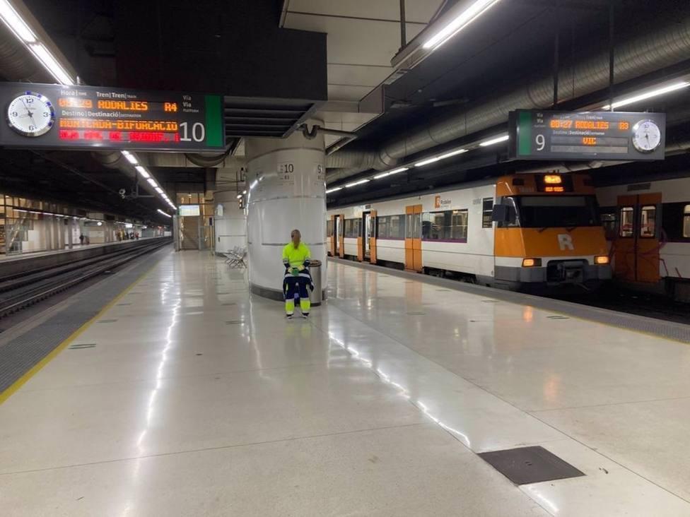 Afectaciones en Rodalies del 29 al 31 de enero por obras en la estación de Sants de Barcelona