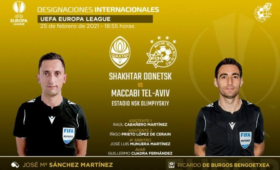 Sánchez Martínez vuelve a Europa