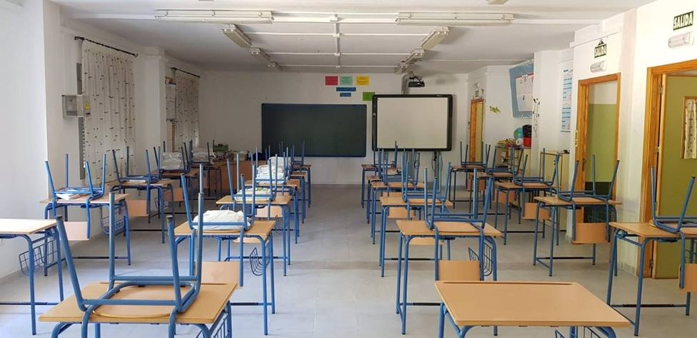 Del 4 al 10 de mayo se han notificado 82 casos positivos por Covid-19 entre la comunidad educativa