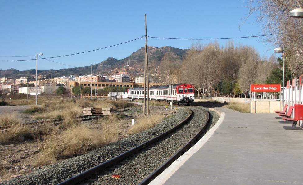 CCOO se opone al cierre de la línea Murcia-Águilas para obras Corredor