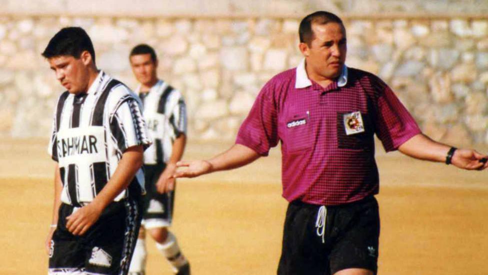 Imágenes para el recuerdo en Motril Dani Pastor y Julio Sánchez, Tercera Provincial de la temporada 1997/98