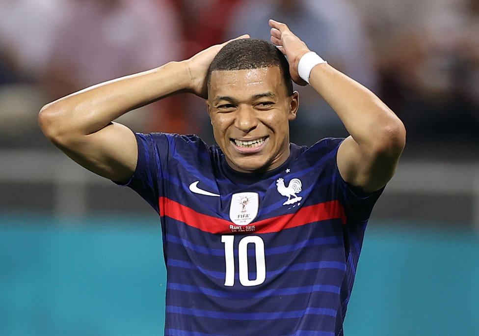 Mbappé falló el penalti definitivo que dejó a Francia fuera de la Eurocopa (EFE)