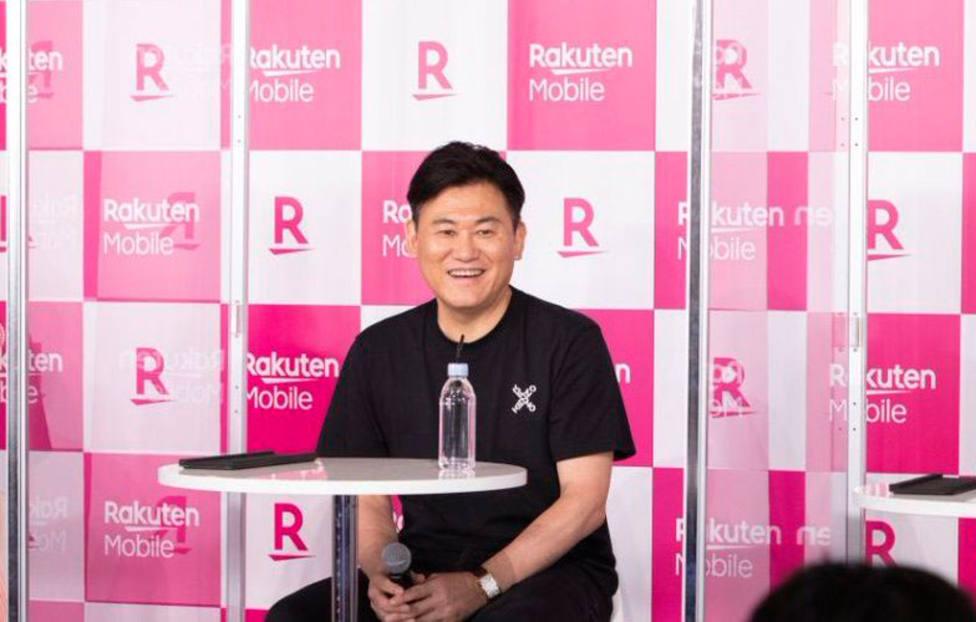Hiroshi Mikitani, CEO Rakuten