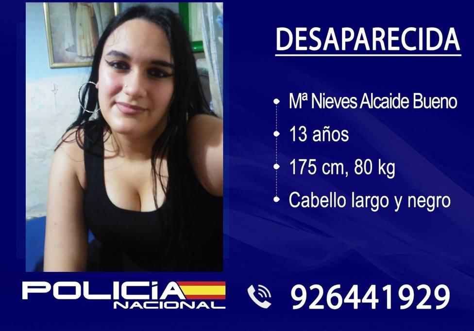Menor desparecida en Puertollano
