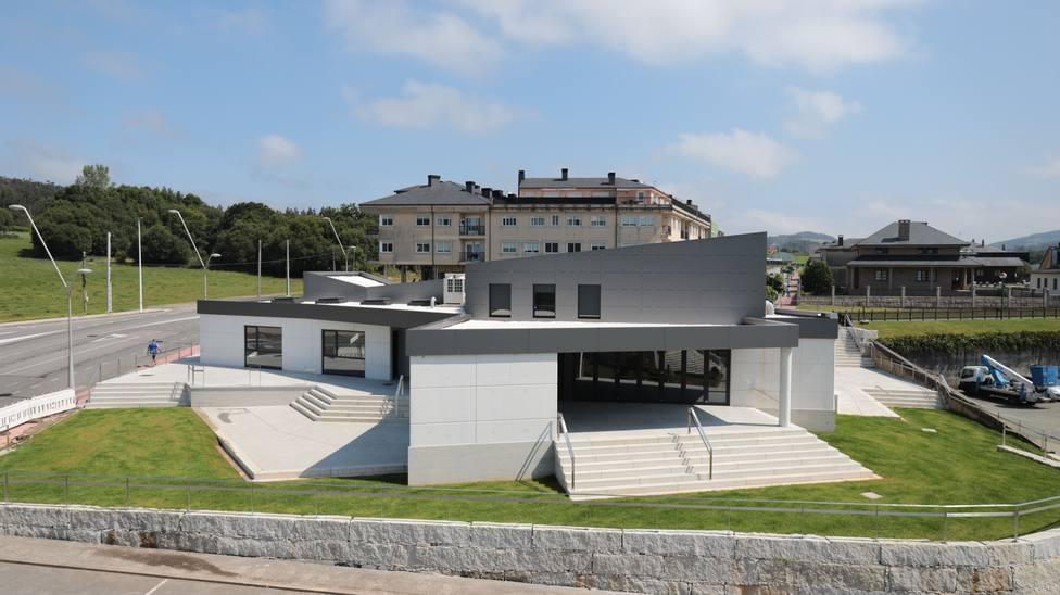 Centro cívico de As Somozas. FOTO: Concello de As Somozas