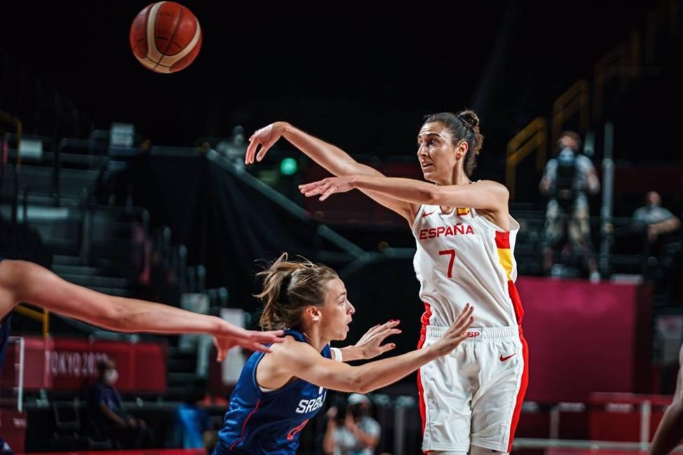 AV.- Baloncesto/JJ.OO.- España se venga de Serbia a lo grande y acaricia la clasificación