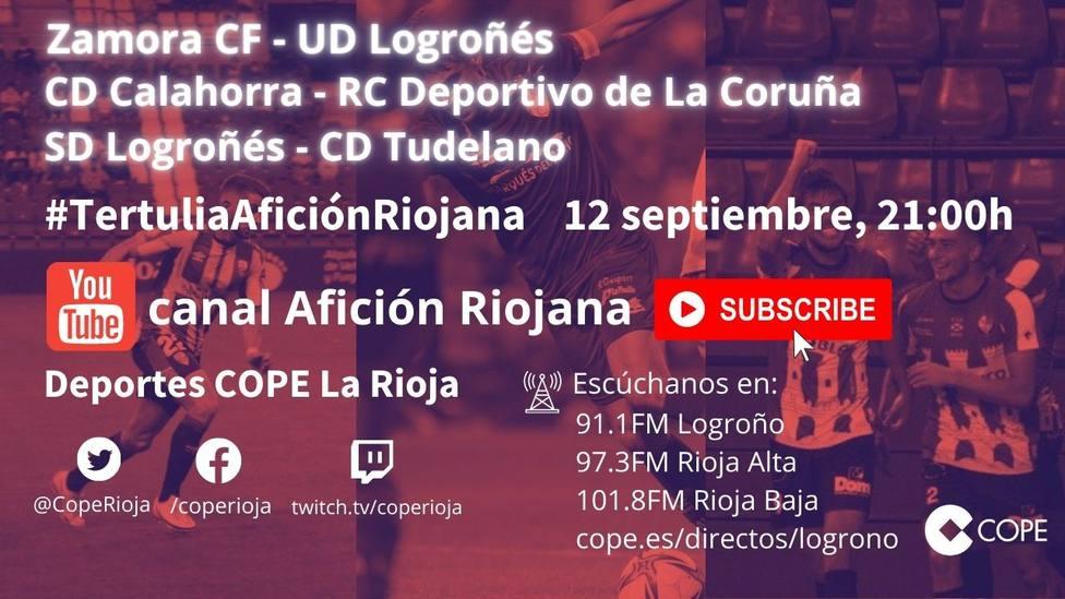 3ª jornada Primera RFEF: La tertulia Afición Riojana
