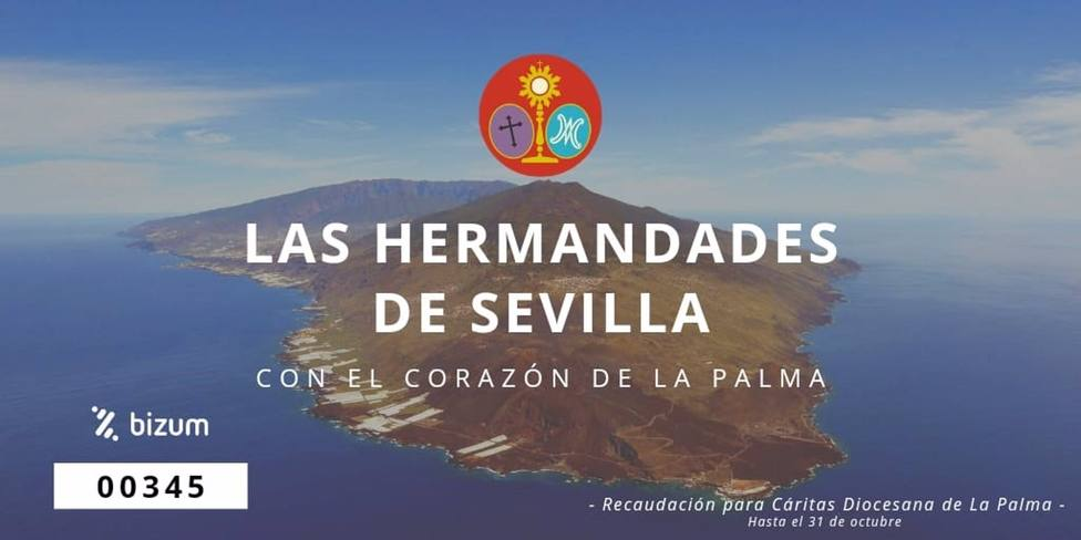 Sevilla.-El Consejo de Hermandades lanza una campaña solidaria para los damnificados por el volcán de La Palma
