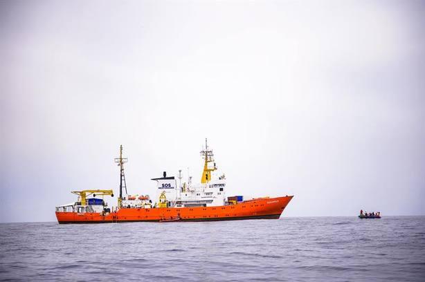 El Aquarius, buque insignia del salvamento en el Mediterráneo