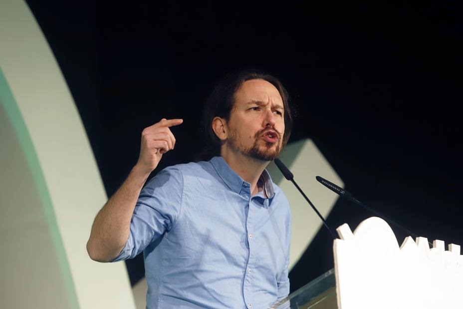 Pablo Iglesias decreta alerta antifascista y llama a la movilización contra los postfranquistas de Vox