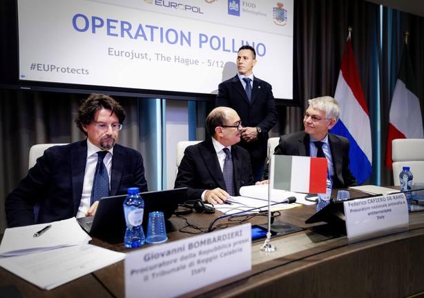 Detenciones en Holanda en redada internacional contra la Ndrangheta