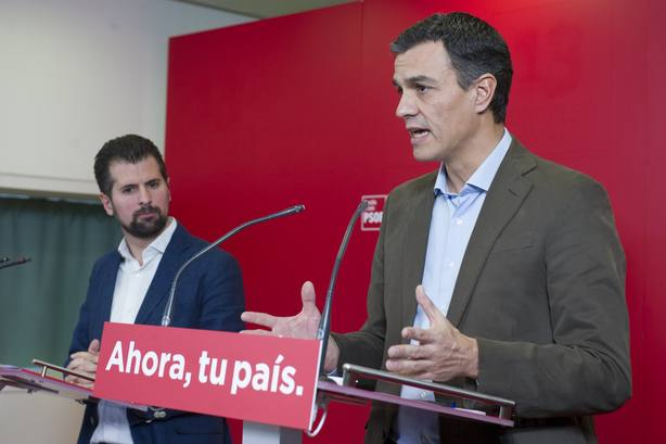 Pedro Sánchez presentará hoy de forma oficial a Tudanca como candidato a la Presidencia de la Junta de CyL