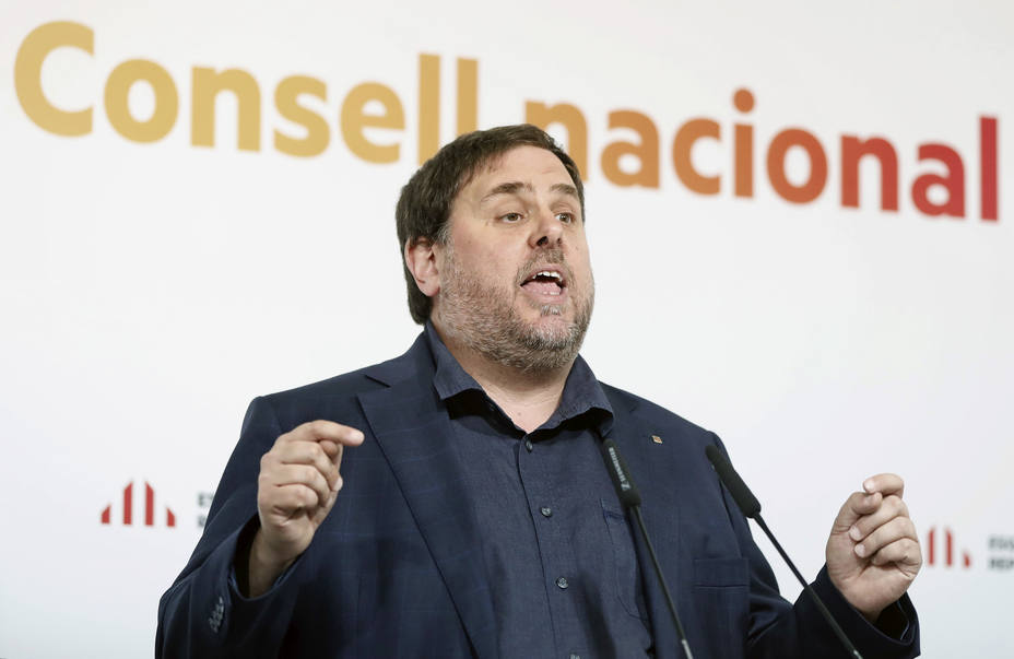 Junqueras pide poder hablar en catalán en el juicio del procés