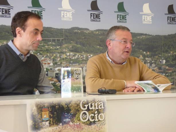 Juan José Franco y Gumersindo Galego durante la presentación de la publicación