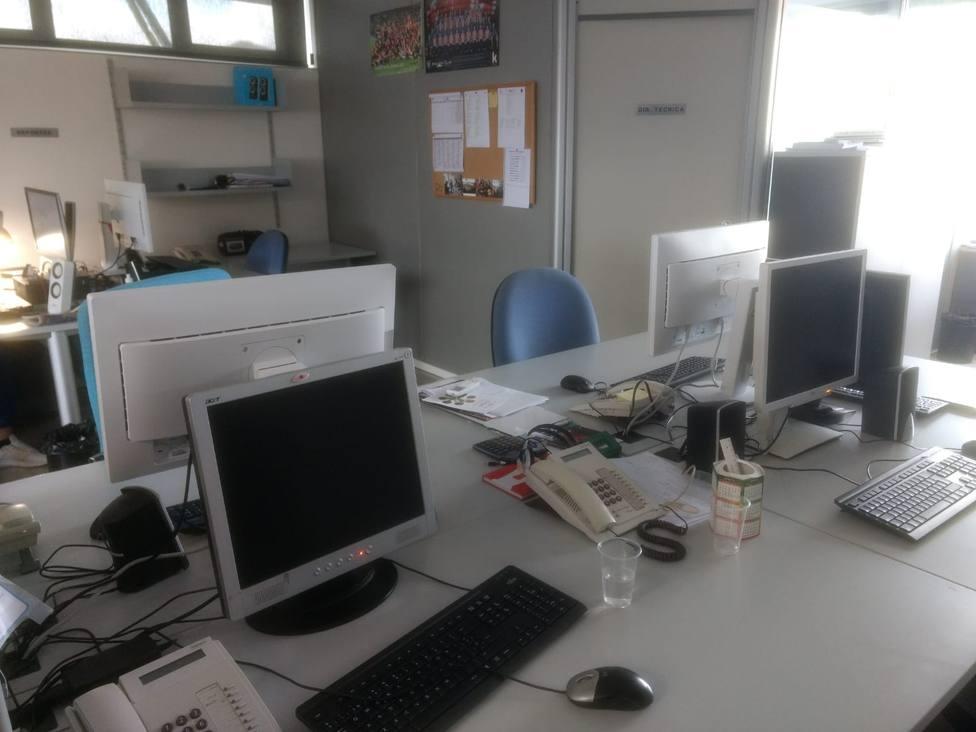 Oficina. Ordenadores