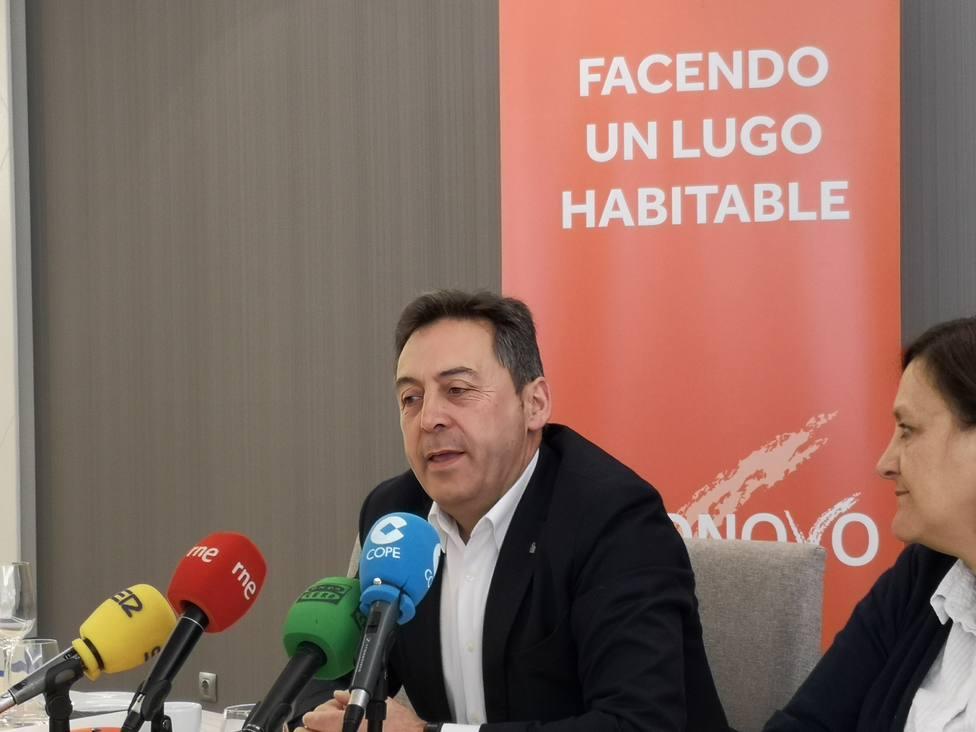 """Xosé Chorén: """"Nuestro objetivo no es vivir en las barricadas"""""""