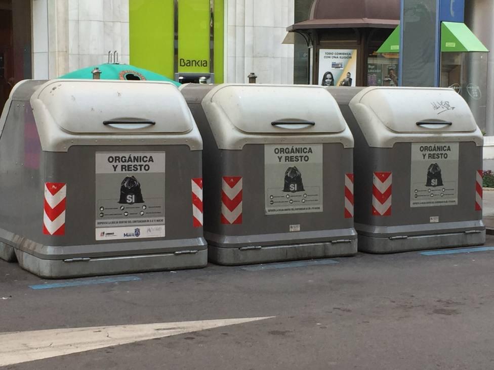 Contenedores de basura en Motril
