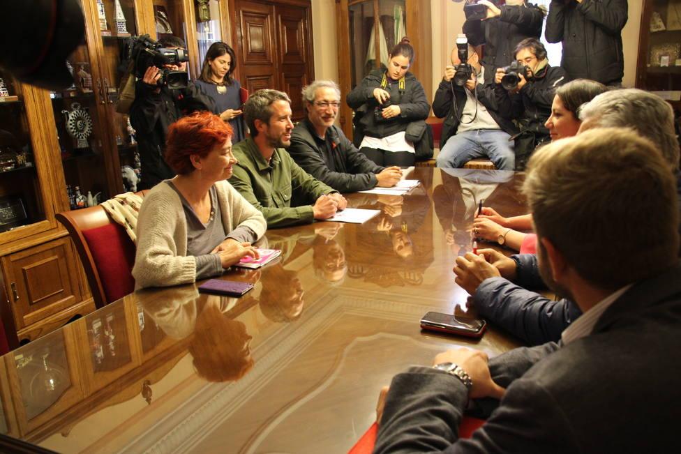 """Méndez asegura que las reuniones con el BNG están siendo """"fructíferas"""" para Lugo"""