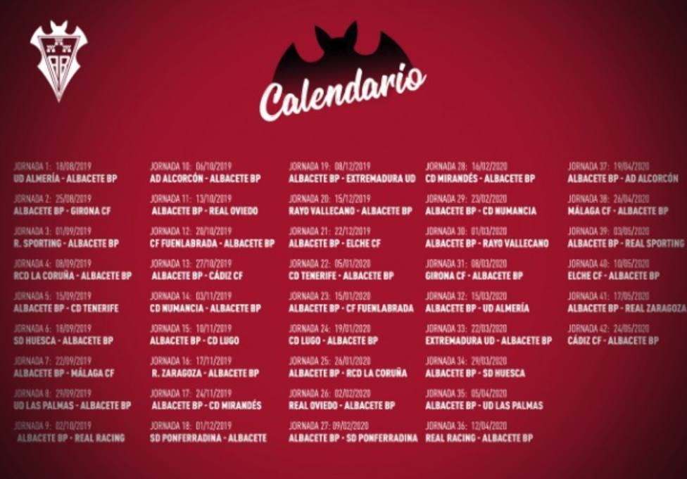 Calendario Laboral Fuenlabrada 2019.Calendario De Laliga123 Para La Temporada 2019 2020 Deportes Cope