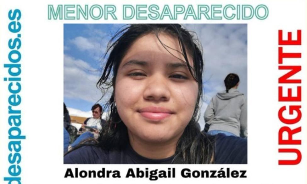 Desaparecida una chica de 16 años en Santiago