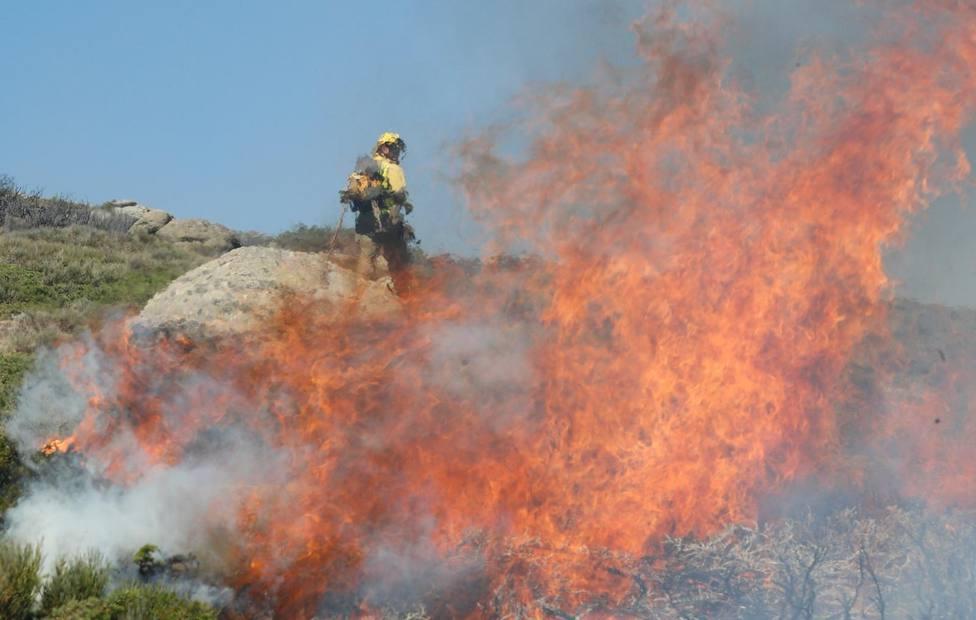 El fuego arrasa más de 56.000 hectáreas en lo que va de año, más del cuádruple que 2018