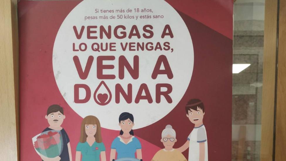 Se necesita sangre en Madrid de manera urgente