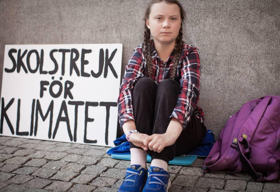 Greta Thunberg inicia su viaje hacia Estados Unidos desde el puerto de Plymouth, Reino Unido