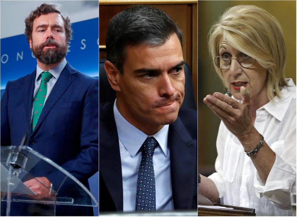 La dura crítica a Sánchez de un histórico del PSOE que han aplaudido Rosa Díez y Espinosa de los Monteros