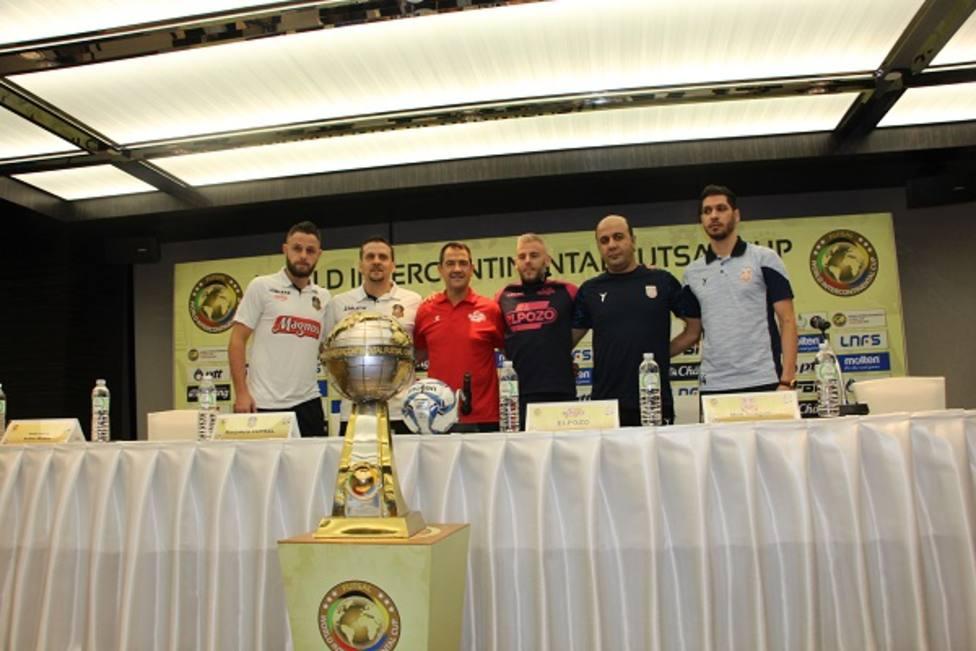 ElPozo FS comenzará el martes su participación en la Copa Intercontinental
