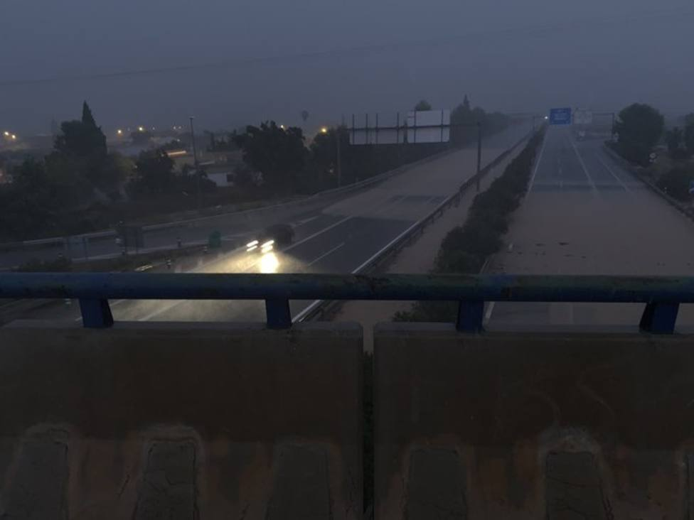 Puente A7 a la altura de San Javier