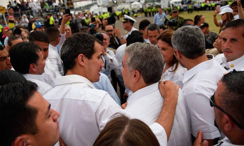 El Gobierno de Colombia aclara que no participó en la logística del traslado de Guaidó al país