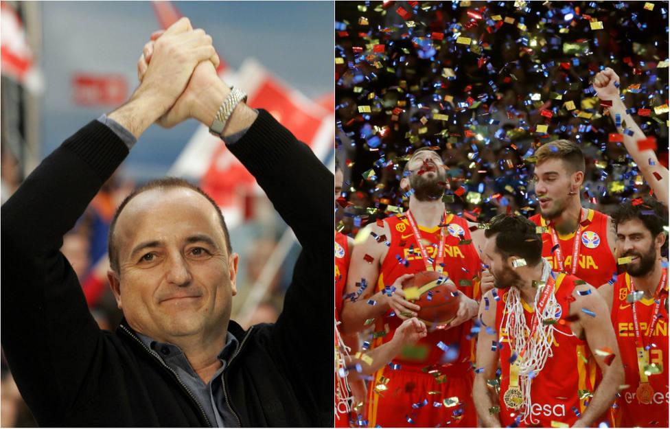 Un exministro de Zapatero enciende las redes tras apropiarse para el PSOE el Mundial de Baloncesto
