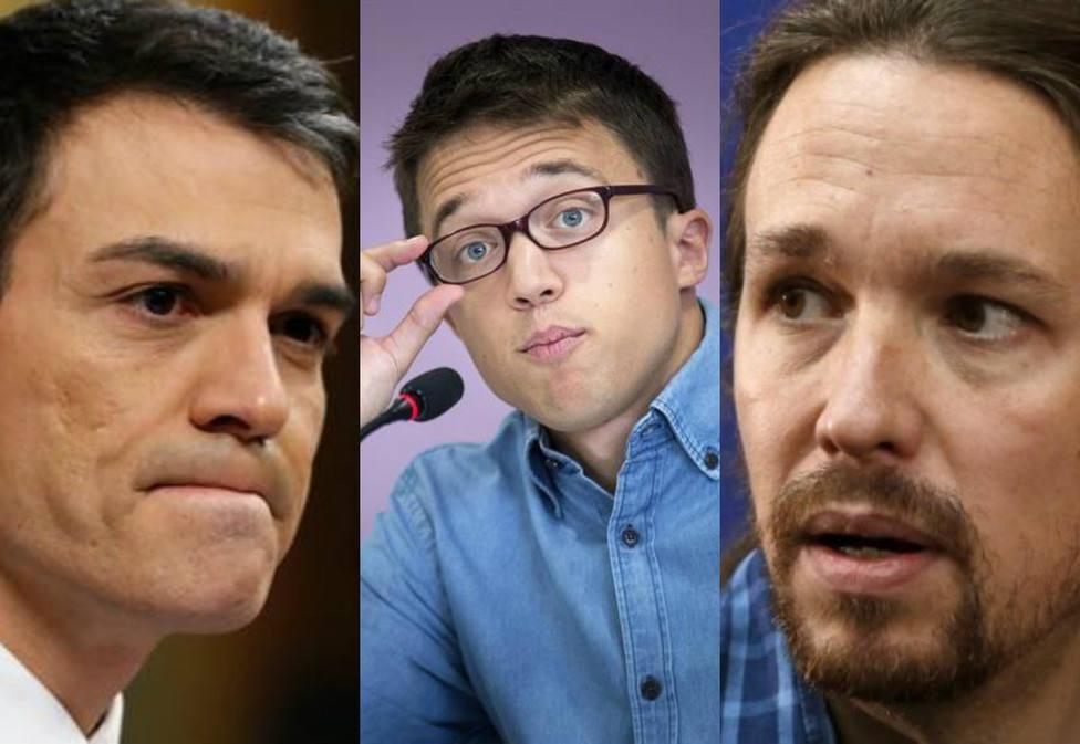 """El mote viral con el que un popular youtuber bautiza a los tres partidos de la izquierda"""", al llegar Errejón"""