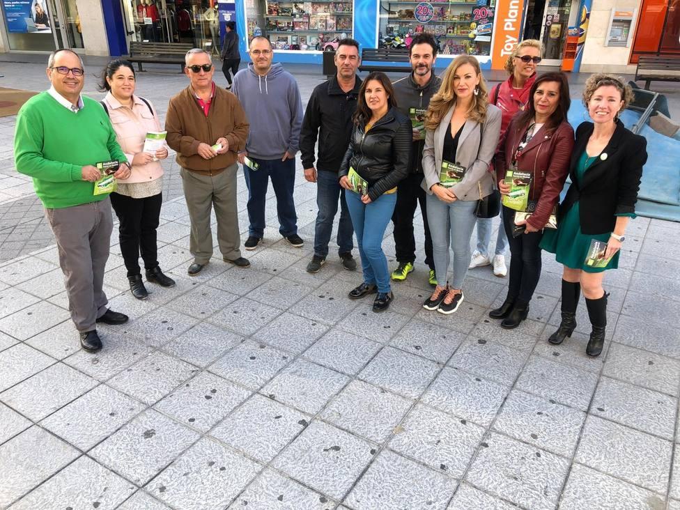 Candidatos AndalucíaXSí en Motril