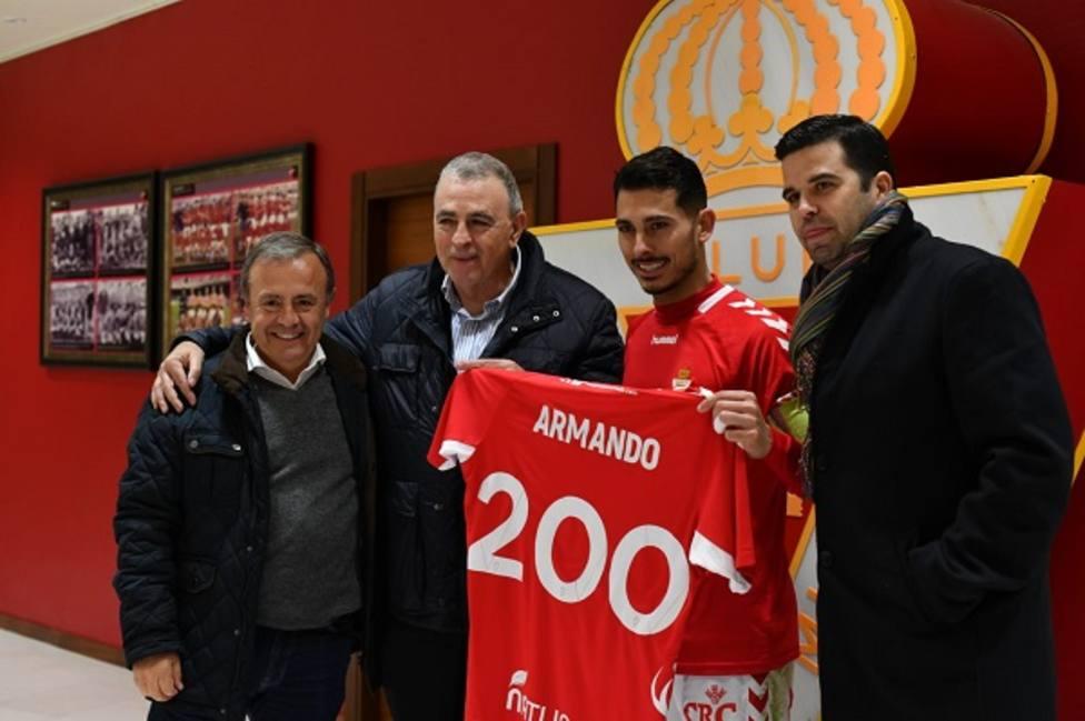 Armando Ortiz cumple su partido 200 con la grana